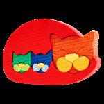 Kattenfamilie - Fauna speelgoed