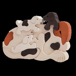 Hondenfamilie - Fauna speelgoed