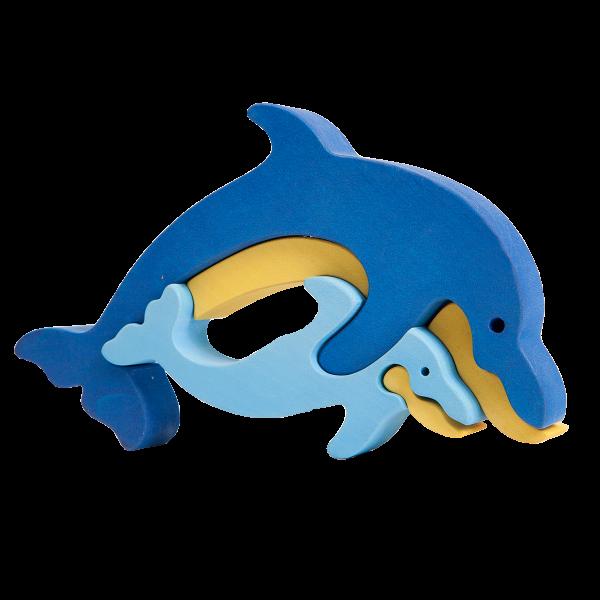 Dolfijnfamilie - Fauna speelgoed