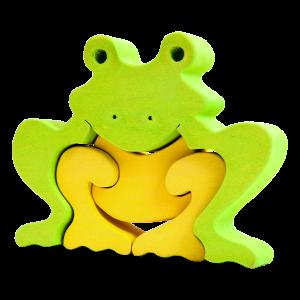 Kikker groot - Fauna speelgoed