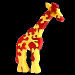 Giraf groot - Fauna speelgoed