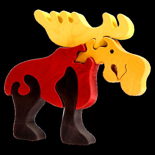 Rendier groot - Fauna speelgoed