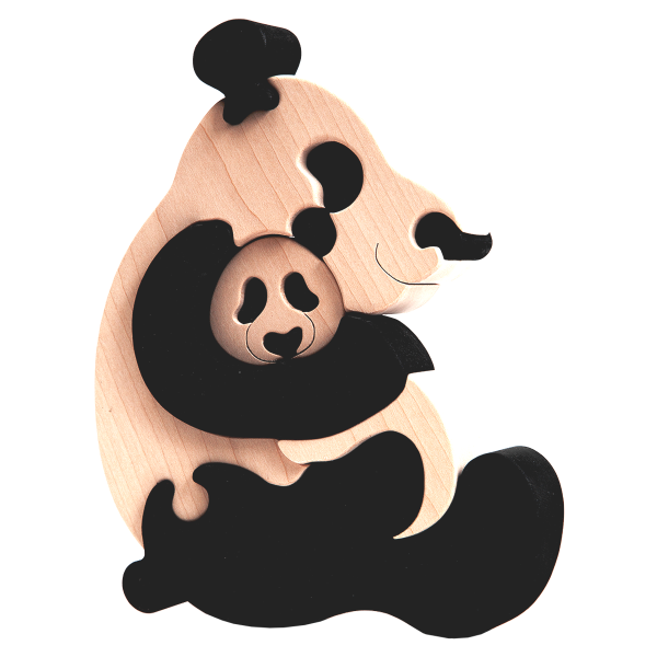 Pandafamilie - Fauna speelgoed