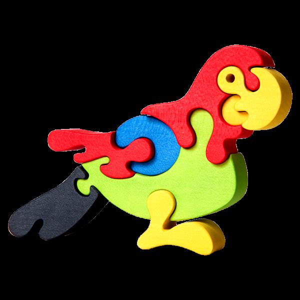 Papegaai groot - Fauna speelgoed