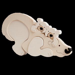 Ijsbeerfamilie - Fauna speelgoed