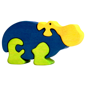Nijlpaard klein - Fauna speelgoed