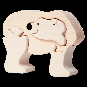 Ijsbeer klein - Fauna speelgoed