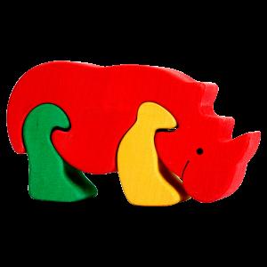 Neushoorn klein - Fauna speelgoed