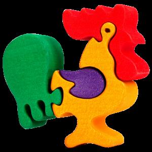 Haan klein - Fauna speelgoed