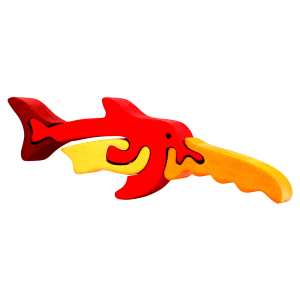 Zaagvis klein - Fauna speelgoed