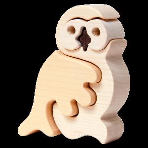 Sneeuwuil klein - Fauna speelgoed