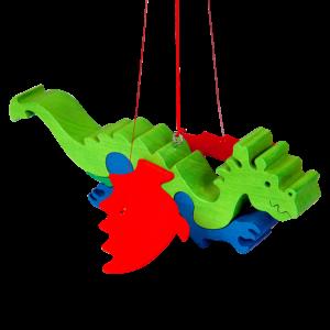 Mobiel draak - Fauna speelgoed