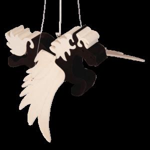 Mobiel pegasus zwart - Fauna speelgoed