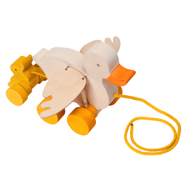 Trek speelgoed eend - Fauna speelgoed