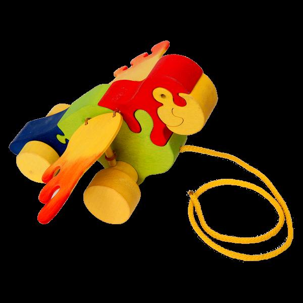 Trek speelgoed papegaai - Fauna speelgoed