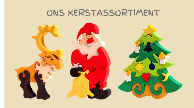 houten speelgoed kerst